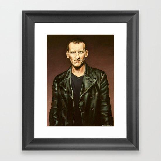 The Ninth Doctor Framed Art Print