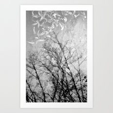 Nothing Written in the Sky Art Print