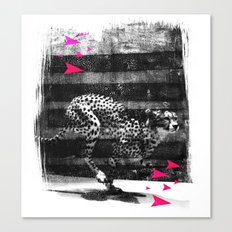 speed runner Canvas Print