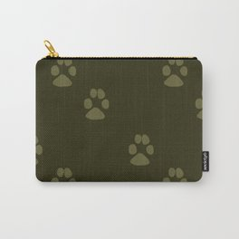 Paw Prints in a Line Carry-All Pouch