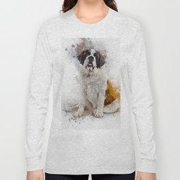 St Bernard Long Sleeve T-shirt