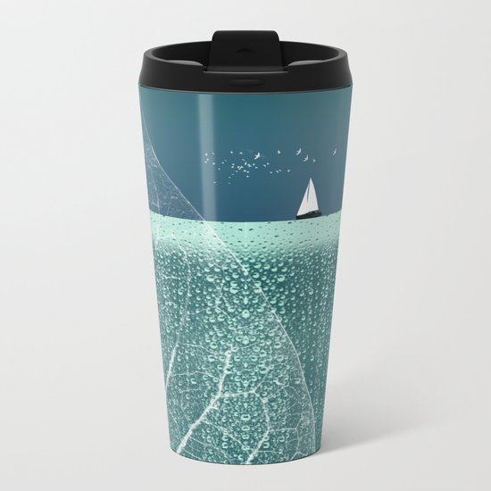 OCEAN WONDERLAND VIII Metal Travel Mug