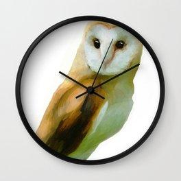 The Barn Owl Wall Clock