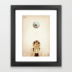 Supreme Tattoo Framed Art Print