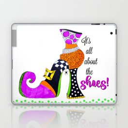 It's All About the Shoes! Laptop & iPad Skin