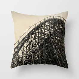 Lightning Racer Throw Pillow