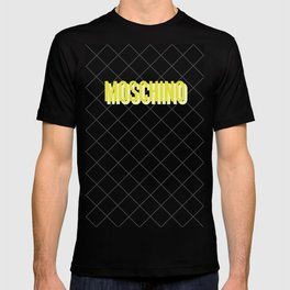 MOSCHINO Quilted Bag T-shirt