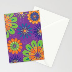 Psychoflower Purple Stationery Cards