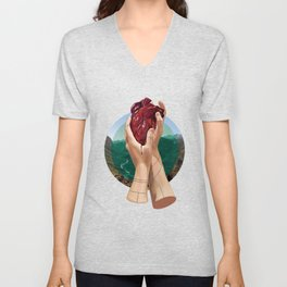 In Its Grip Unisex V-Neck