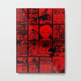 RED - Anne Frankenstein Book I - Resurrection  Metal Print