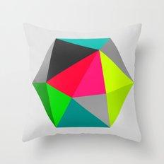 Hex series 1.3 Throw Pillow