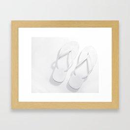 Just a Flop Framed Art Print