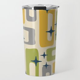 Retro Mid Century Modern Abstract Pattern 614 Travel Mug