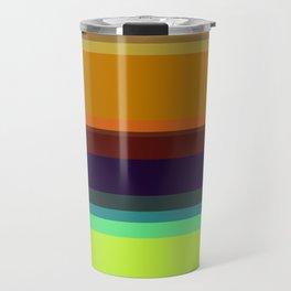 Color stripes I Travel Mug