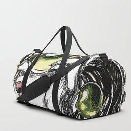 green girl Duffle Bag