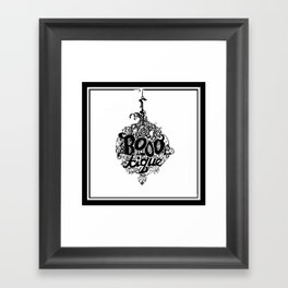 BOOO-tique! Framed Art Print