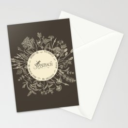 Dear Sassenach in Sepia Stationery Cards