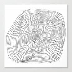 Spiral Rings Canvas Print