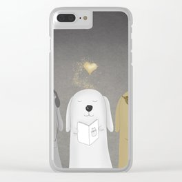 Dogs Clear iPhone Case