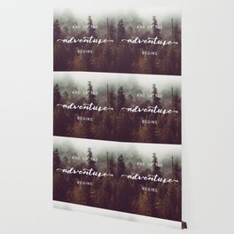 And So The Adventure Begins - Pacific Northwest Wallpaper