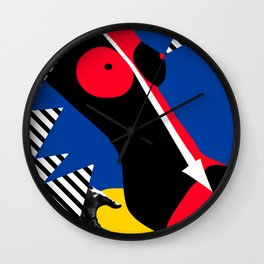 Nude Pop Art Wall Clock