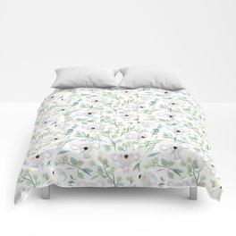Koala and Eucalyptus Pattern Comforters