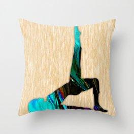 Fitness Throw Pillow
