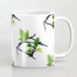 New leaves on the Sweetgum Tree - Seamless Coffee Mug