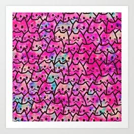 cats 149 Art Print