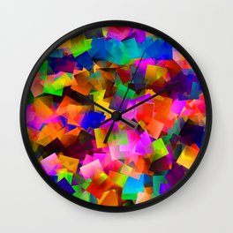 Street party Wall Clock