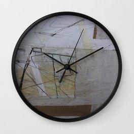 In A Field  Wall Clock