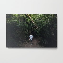 Jungle walk Metal Print