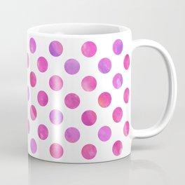 Polka Dot Watercolor Coffee Mug