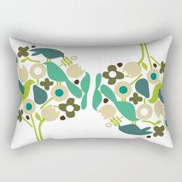 birdy num num Rectangular Pillow
