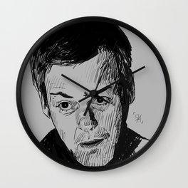 Greg Lestrade Sketch Wall Clock