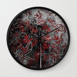 Katana without Master Wall Clock