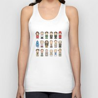 hayley williams Tank Tops featuring Robin Williams  by Big Purple Glasses