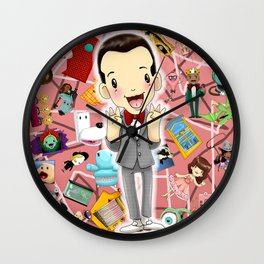I KNOW YOU ARE, BUT WHAT AM I? Wall Clock