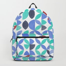 LITE GARDEN SALAD, hand-painted pattern by Frank-Joseph Backpack