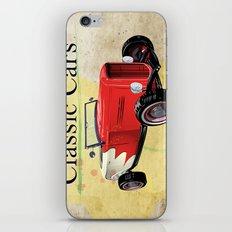 Classic Cars iPhone & iPod Skin