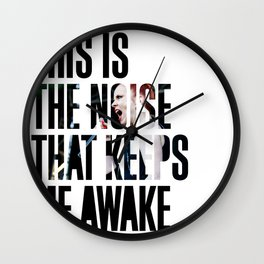 Garbage - 'Push It' lyrics Wall Clock