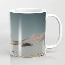 Dutch beach at sunset | Colourful Travel Photography | Zeeland, Holland (The Netherlands) Coffee Mug