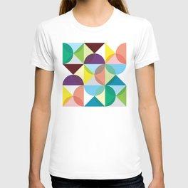 Geometric Pattern 3 (colorful circles) T-shirt