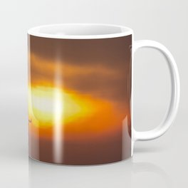 Into the Sunset. Coffee Mug