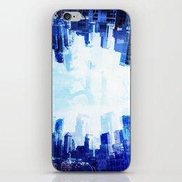 Crystallized City iPhone Skin