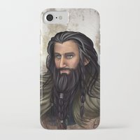 thorin iPhone & iPod Cases featuring Thorin Oakenshield by KuroCyou