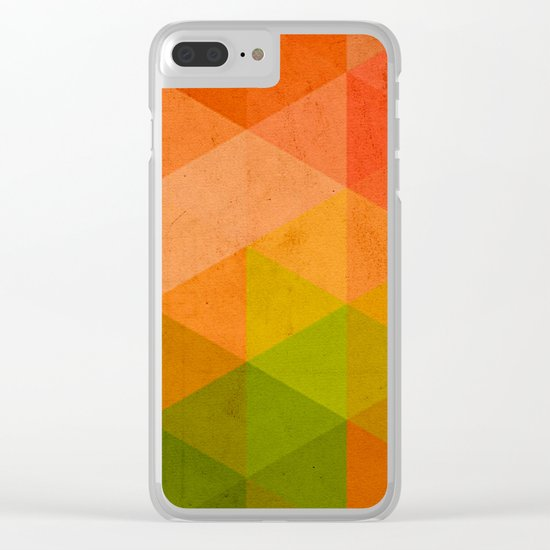 try a different angle triangle II Clear iPhone Case
