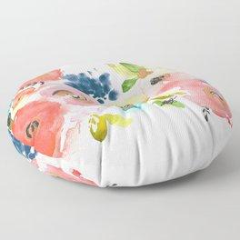 Floral POP #2 Floor Pillow
