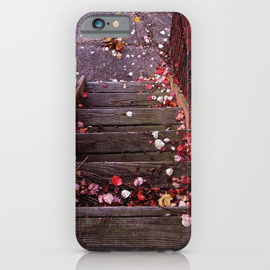 Autumn Stairs iPhone & iPod Case