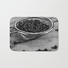 Peppercorns. Bath Mat